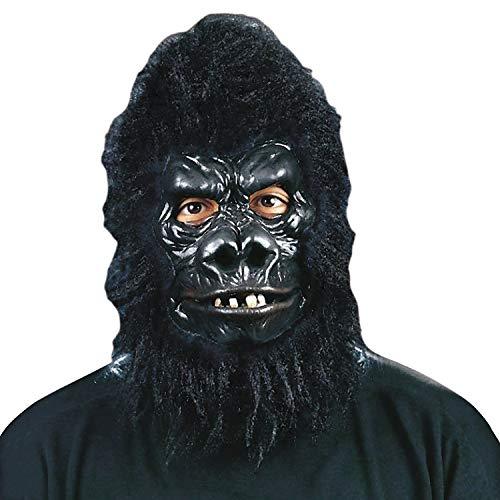 Fun Express - Gorilla Deluxe for Halloween - Apparel Accessories - Costume Accessories - Masks - Halloween - 1 Piece]()