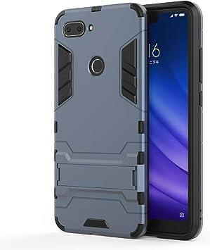 HDRUN Xiaomi Mi 8 Lite Funda - 2in1 Duro PC + Suave TPU Silicona ...