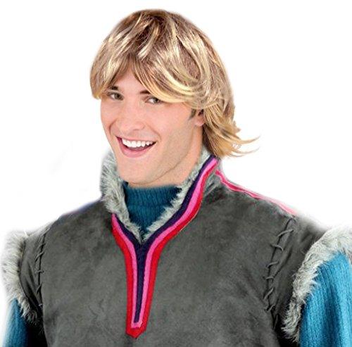 Frozen Costumes For Men (Clumsy Lover Boy Kristoff Style Costume Wig Kristoff Style Wig For Adults and Kids)