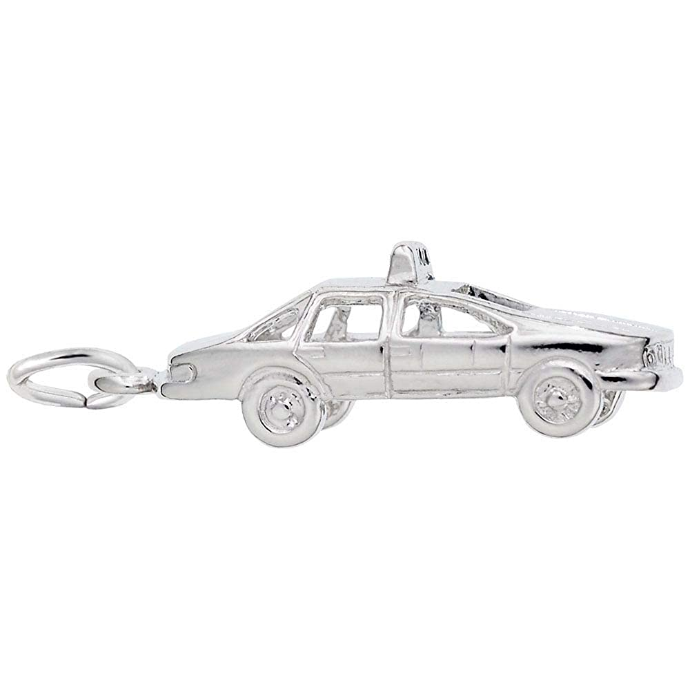 925 Sterling Silver Taxi Cab Rembrandt Charms