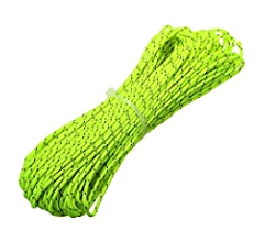 50m Reflective Guyline Outdoor Camping Tent Rope Runners Guy Line Cord Wi T F4