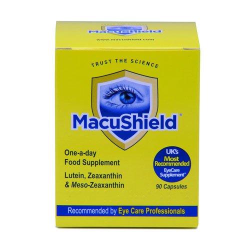 Macushield avec méso-zéaxanthine pour santé maculaire 90 Capsules