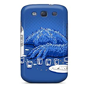 Xianshishop IrC18386GFIj Cases Covers Skin For Galaxy S3 (cookie Monster Milkd) Black Friday