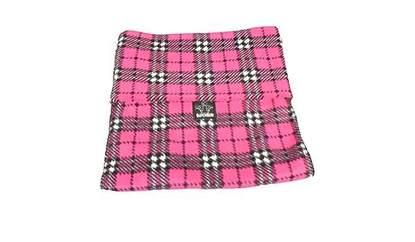 Safari Polo Pancho - Bufanda - para hombre Multicolor Pink Tartan ...