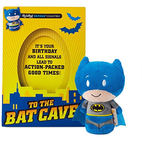 Hallmark itty bittys Batman Birthday Card With Stuffed Animal