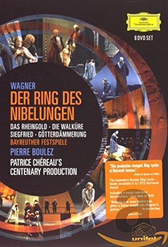 Wagner: The Ring of the Nibelung ( Das Rheingold / Die Walküre / Siegfried / Götterdämmerung) (Boulez/Chereau Ring Cycle) by Deutsche Grammophon