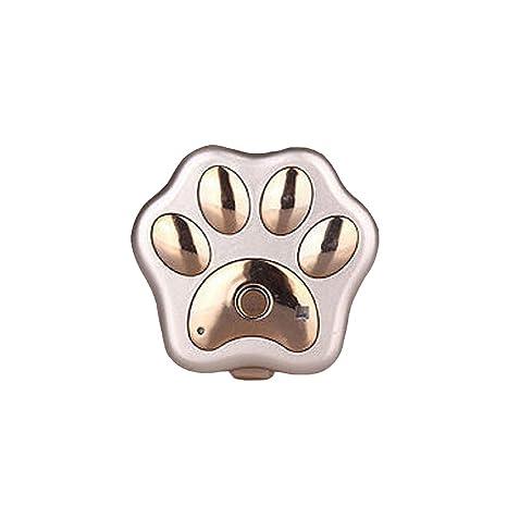 WUPO Localizador De Mascotas, Rastreador Impermeable Y Liviano para Gatos Y Perros, Adecuado para