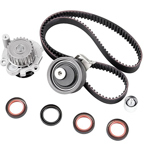 ECCPP Timing Belt Kit Water Pump TBK306B for 2001-2006 Audi TT Volkswagen Jetta Beetle GTi 1.8L TURBO