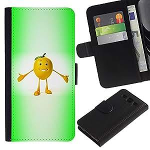 All Phone Most Case / Oferta Especial Cáscara Funda de cuero Monedero Cubierta de proteccion Caso / Wallet Case for Samsung Galaxy S3 III I9300 // Funny Fruit