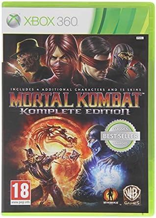 Mortal Kombat: Komplete Edition Xbox 360 by Xbox: Amazon.es ...