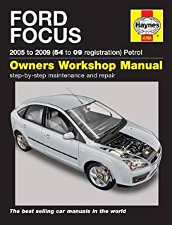 ford focus petrol service and repair manual 2005 to 2009 haynes rh amazon co uk 2009 ford focus repair manual free 2009 Ford Focus SE