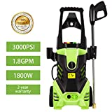 Homdox 3000 PSI Electric Pressure Washer, 1800W Power Washer, High Pressure Washer, Professional Washer Cleaner Machine with 5 Interchangeable Nozzles