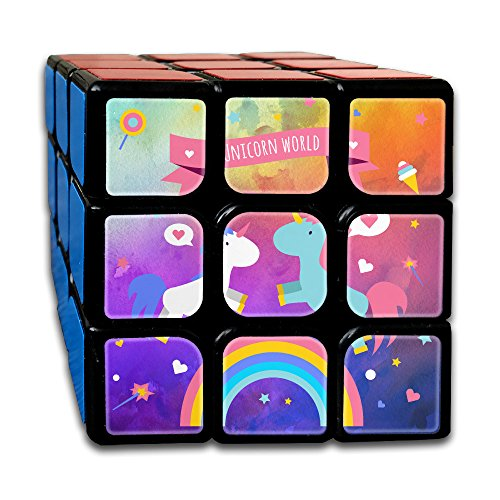 Magic Unicorn World 3 X 3 Cube Easy Turning And Smooth Play Magic Cube Puzzles Toys