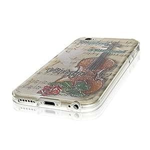 Colección 180, personalizado 6S Soft iPhone Case Funda Carcasa silicona, compatible con iPhone 6S, color multicolor