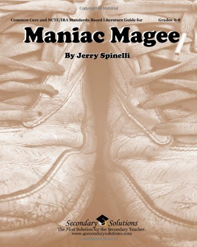 Maniac Magee Teacher Guide - Teaching Unit for Maniac Magee by Jerry Spinelli