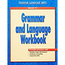 Glencoe Language Arts Grammar and Language Book Grade 11