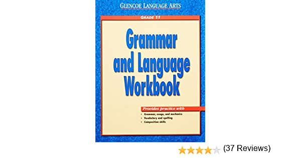 Workbook diagramming worksheets : Amazon.com: Glencoe Language Arts Grammar and Language Workbook ...