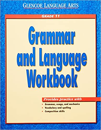 glencoe grammar and language workbook grade 11 answer key