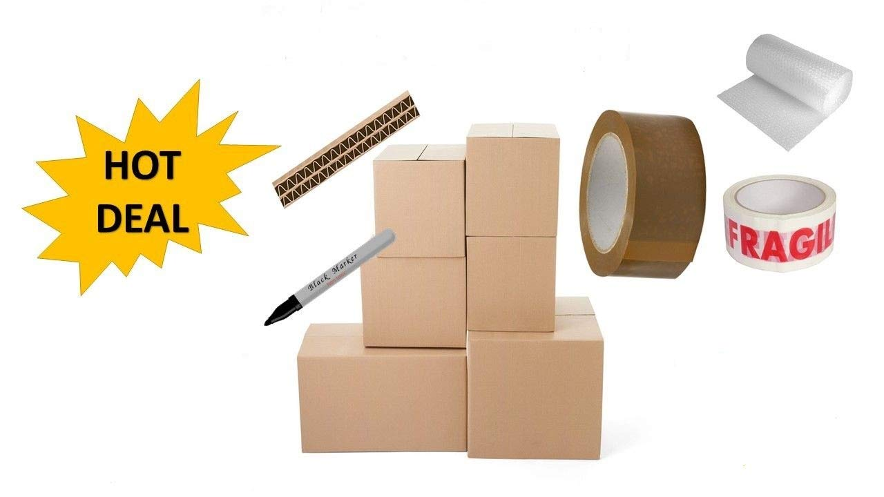 **NEW DEAL** 25 x LARGE HOUSE MOVING REMOVAL BOXES PACK FOR A PERFECT MOVE *** NEXT DAY UK DELIVERY *** OFFICE MOVING REMOVAL BOXES PACK ** VISIT Our Exciting Amazon Packaging Catalogue - Search > Wellpack Europe
