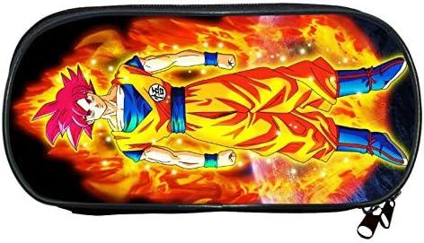 Dragon Ball - Estuche para lápices con estampado de vegeta de Goku Saiyan: Amazon.es: Oficina y papelería