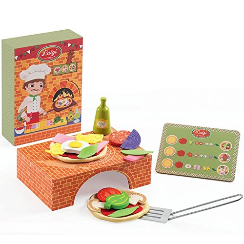 Luigi Pizza Kinderküche Djeco jb-3404