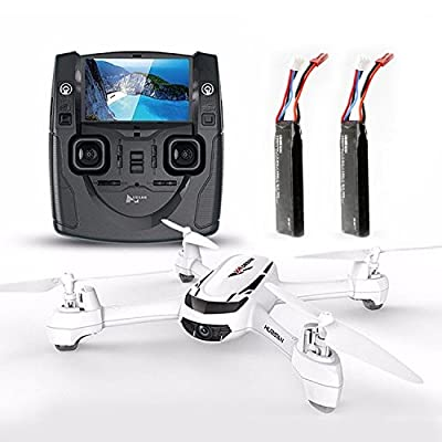 Hubsan H502S X4 FPV RC Quadcopter Drone Two Battery by HUBSAN