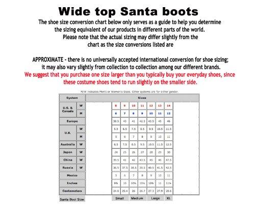 3ac80e139f05 Amazon.com  Wide Calf Professional Santa Boots  Shoes