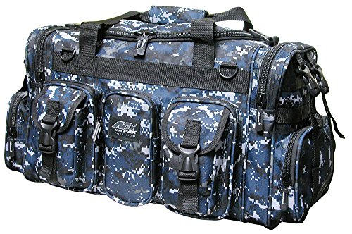 22″ 2600cu.in. NexPak Tactical Duffel Range Gear Bag TF122 DMBK Digital Camo Navy