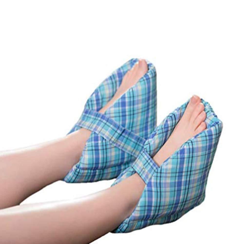 Foot Pillows, Heel Protectors,Heel Cushions,Effective Pressure Sore and Heel Ulcer Relief,Great for Swollen Feet, (1pair)