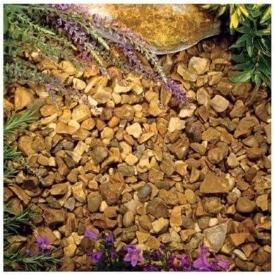 800 kg jardinería piedras del jardín Patio descuento a granel grava dorada piedra Calidad garantizada entrada
