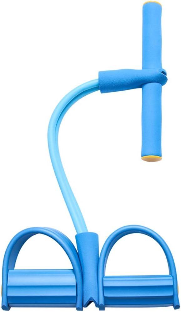 Color : Blue System Mit Resistance Bands St/ärken Trainer-Kasten-Expander Fitness LEBAO Expander Fitness Brustmuskeltrainer