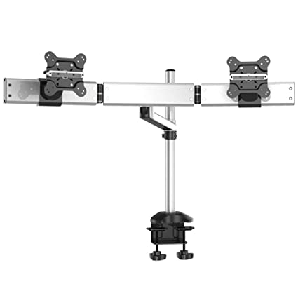 Stupendous Amazon Com Cotytech Dual Monitor Desk Mount For Apple Quick Home Interior And Landscaping Elinuenasavecom