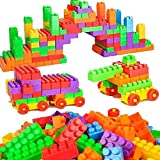 Benlet Baby Children Multicolor Educational Assembly Building Blocks Set Toys Activity Play Centers