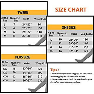 KT Buttery Soft Leggings for Women - High Waisted Leggings Pants with Pockets - Reg & Plus Size - 10+ Colors (Black, One Size)