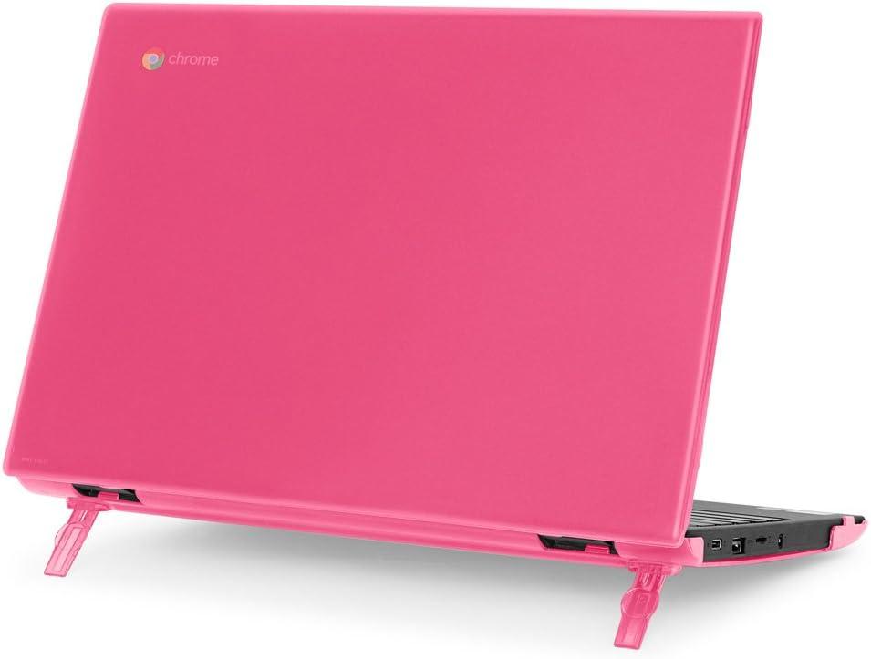 """mCover Hard Shell Case for 2018 11.6"""" Lenovo 100E Series Chromebook Laptop (NOT Fitting Lenovo 300E Windows & N21 / N22 / N23 / 300E / 500E / Flex 11 Chromebook) (C100E Pink)"""