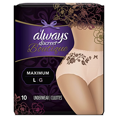 Always Discreet Boutique, Incontinence Underwear for for sale  Delivered anywhere in Canada