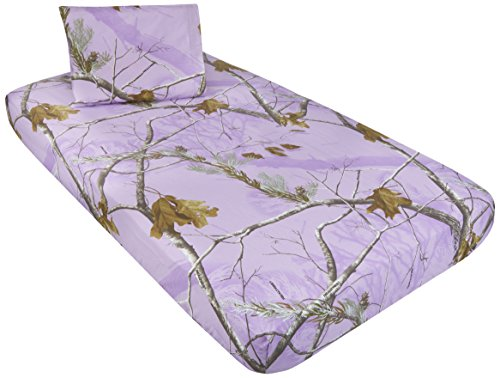 Kimlor Mills Realtree APC 2 Piece Sheet Set, Lavender