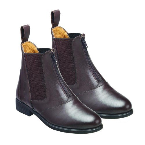 Harry Brown Size Leather Hartford 6 Ladies Boots 5 Jodhpur Zip x Hall Front 1rRZBn1