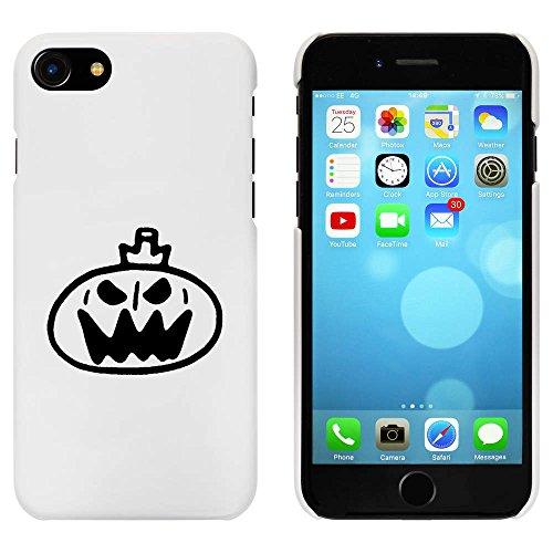 Blanc 'Halloween Citrouille' étui / housse pour iPhone 7 (MC00085785)