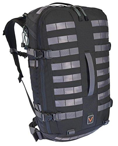 2017VTGR6 Modular Bug Out Bag, Men's Medium, Black by VITAL GEAR