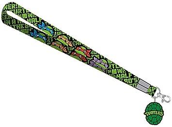 Teenage Mutant Ninja Turtles Logo Lanyard with Logo Charm ...