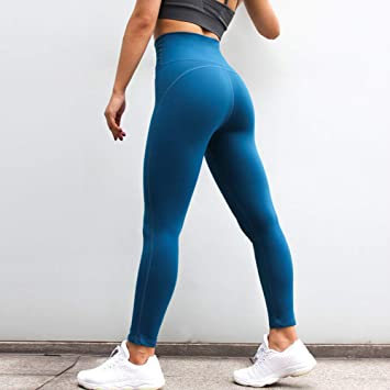 WZXY Stretch Sports Leggings Women Gym Hips Up Yoga Pants ...