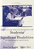 img - for Curriculum and Instruction for Students with Significant Disabilities in Inclusive Settings (2nd Edition) book / textbook / text book