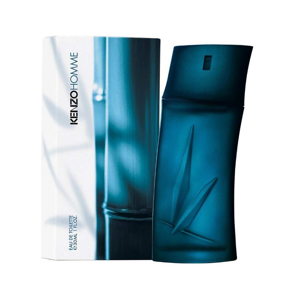KENZO Homme 30 ml eau de toilette Hombres - Eau de toilette (Hombres, 30 ml, Envase no recargable, Marina, Cedro, Aceite de ládano, Sándalo)
