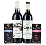 Hedges Family Estate Washington Reds and Chocolate Gift Set with Pacari Chocolate Selection, 2 X 750 mL