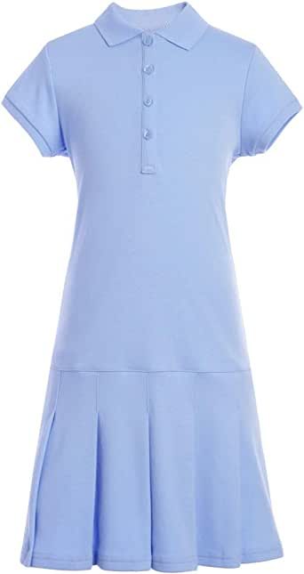 Tommy Hilfiger girls Short Sleeve Girls Interlock Polo Dress Dress