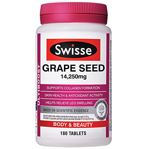 Grape seed oil tablets