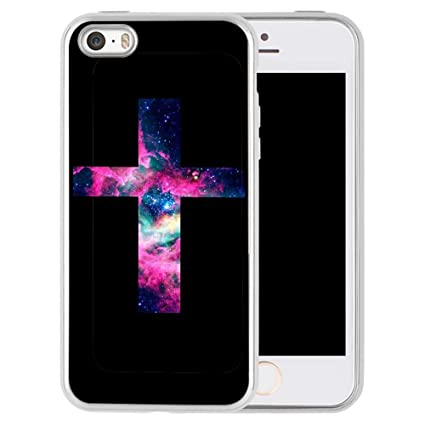 Amazon.com: Carcasa para iPhone SE 5S, diseño de 5 patrones ...