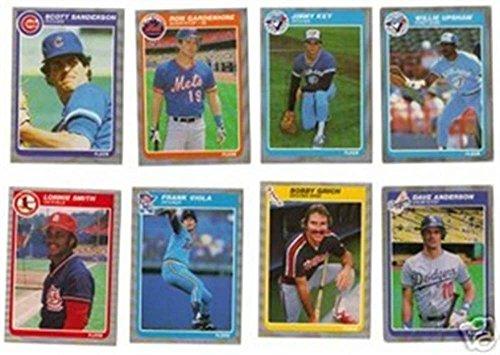 1985 Fleer 660 Checklist: Brewers,Giants