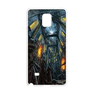 Rogue Traders Warhammer 0 Game Samsung Galaxy Note 4 Cell Phone Case White Gift pjz003_3357365